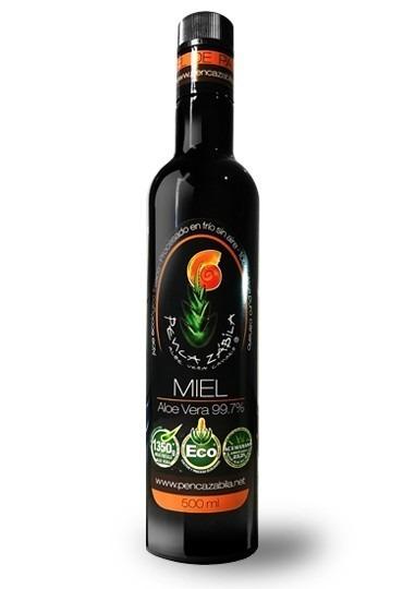 Aloe Vera Miel Palma Penca Zabila - 500 ml - 99,7%