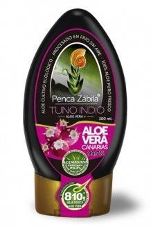 Aloe Vera Juice + Cactus Tuno Indio Penca Zabila 300 ml - 99,7%