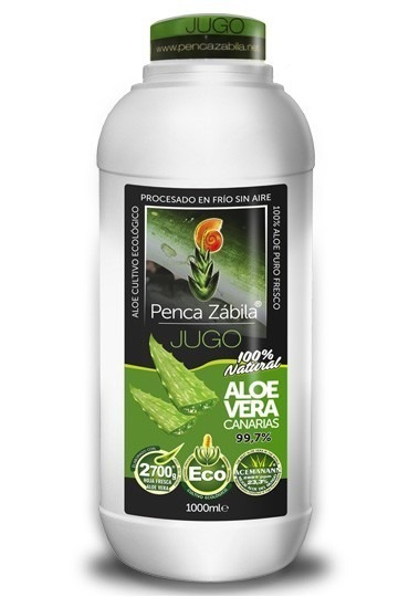 Jugo Puro Aloe Vera Penca Zabila - 1000 ml