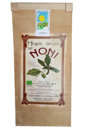 25 g. Hojas de Noni Huerta Mama Maria Premium
